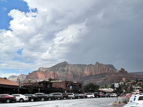 I haven't written the update yet, but I was in Sedona on Wednesday. Turns out it had a flash flood shortly after I left!