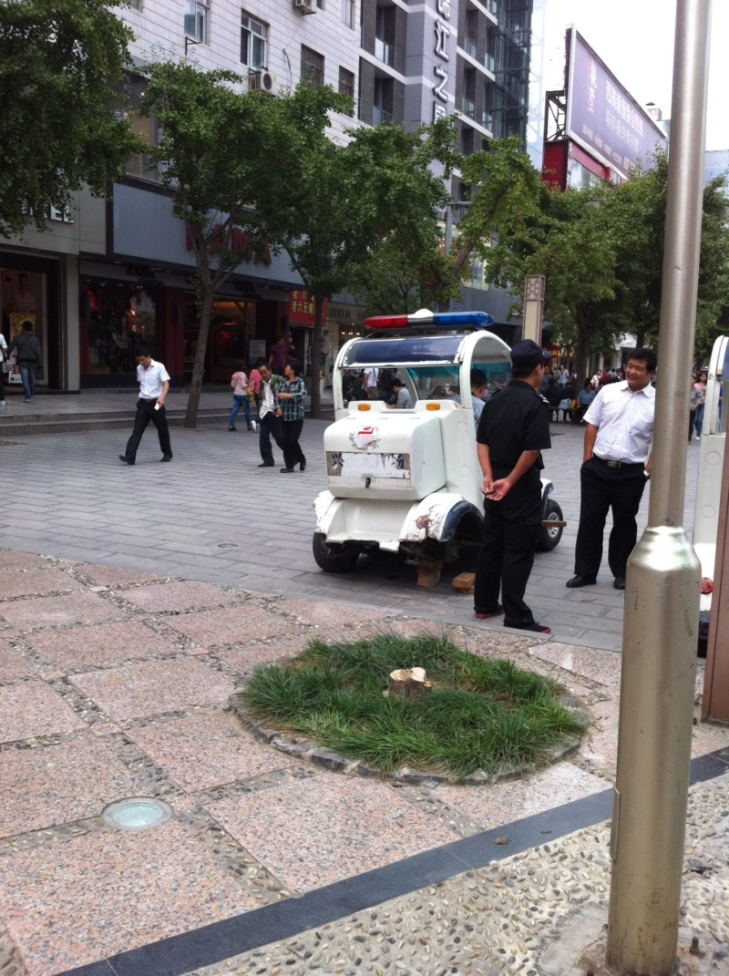I don't think the police in Xian will be involved in too many high speed chases. Sent from my iPhone