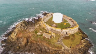 Fort Grey, popularly known and The Cup & Saucer