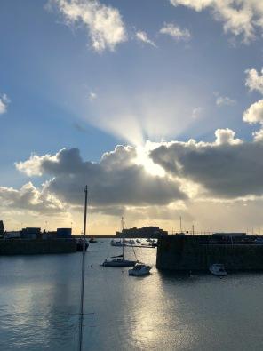 God Rays over Castle Cornet