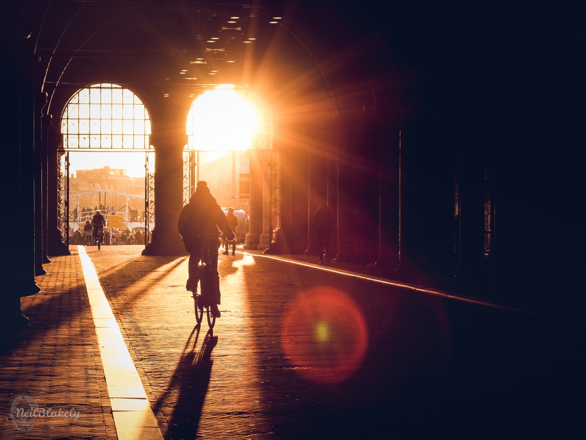 Photo of the Week: Winter Sun in Amsterdam